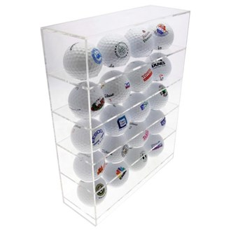acrylic 20 ball display unit