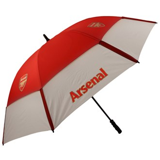 arsenal gustbuster double canopy umbrella