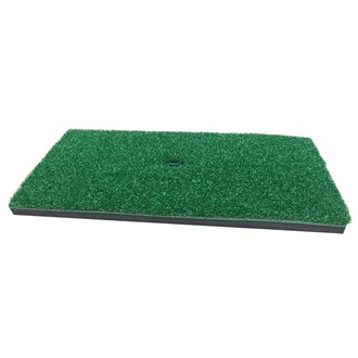 driving and chipping practice mat (17 inch x 8 inch)