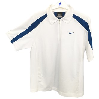 Nike mens 1/4 zip sphere react cool polo shirt