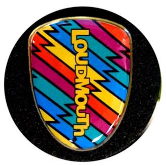 Loudmouth jumbo ball marker (2 pack)