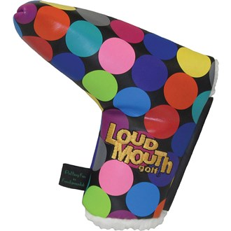 Winning edge loudmouth disco balls putter headcover