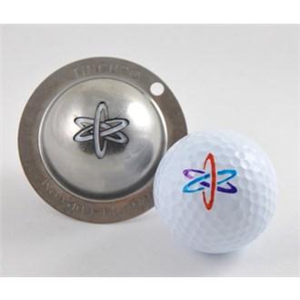 Tin cup ball marker   nuke it