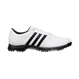 adidas mens golflite 5 wd shoes (white/ black) 15