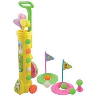 Deluxe Junior Plastic Golf Set