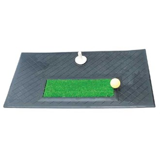 Heavy duty chip & drive practice mat van kantoor artikelen tip.