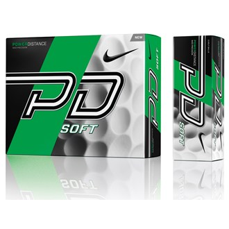 nike power distance pd9 soft white balls (12 balls)