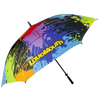 Loudmouth 64 inch double canopy paint balls umbrella