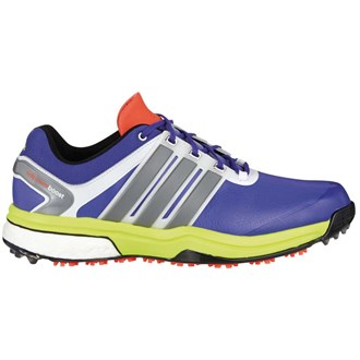 adidas mens adipower boost shoes (night flash/silver/solar)