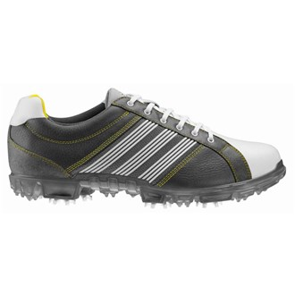 adidas mens adicross tour shoes (black/white)