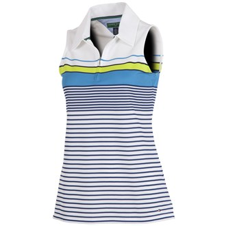 Tommy hilfiger ladies natasha engineered stripe zip polo van kantoor artikelen tip.