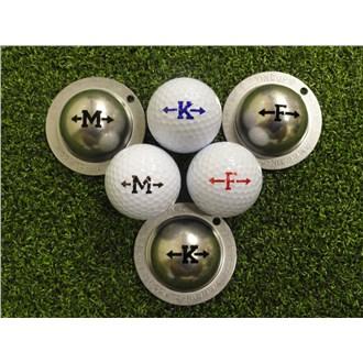Tin Cup Ball Marker  Alpha Players