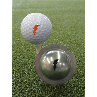 Tin Cup Ball Marker  Bolt