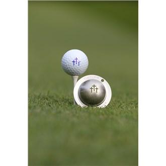 Tin Cup Ball Marker  Divine Intervention