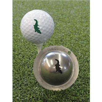 Tin Cup Ball Marker  Gator