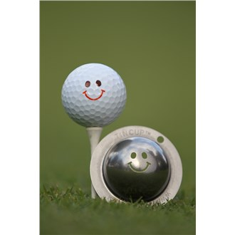 Tin cup ball marker   groovy