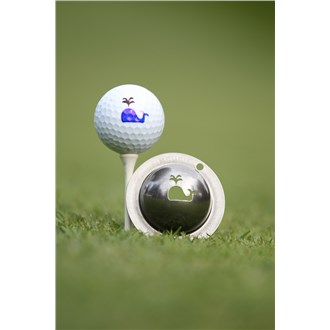 Tin cup ball marker   moby