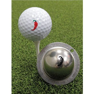 Tin cup ball marker   peppah