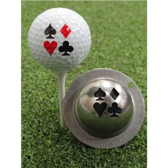 Tin Cup Ball Marker  Vegas Nights
