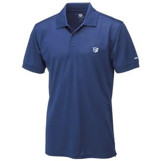 Wilson staff mens authentic polo shirt