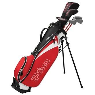 Wilson Junior Prostaff HDX Red Golf Package Set (1114 Years)
