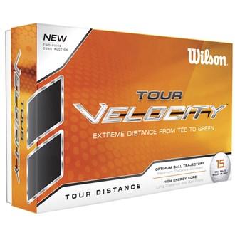 Wilson staff tour velocity distance balls (15 balls) van kantoor artikelen tip.