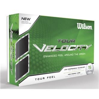 Wilson staff tour velocity feel balls (15 balls) van kantoor artikelen tip.