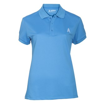 Royal And Awesome Ladies Golf Polo Shirt