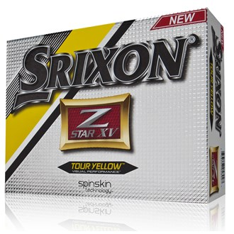 Srixon z star xv tour yellow balls (12 balls)