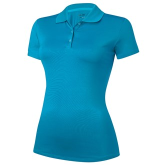 Adidas Ladies Climalite Solid Jersey Polo Shirt