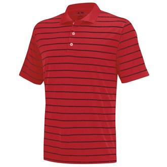 Adidas mens two colour stripe polo shirt