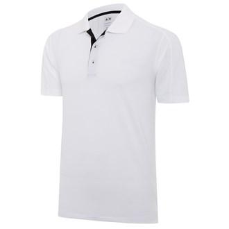adidas mens climalite texture block polo shirt