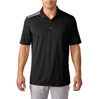 adidas mens climacool 3 stripes polo shirt 2016