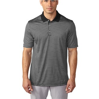 Adidas Mens Tournament 3Colour Stripe Polo shirt