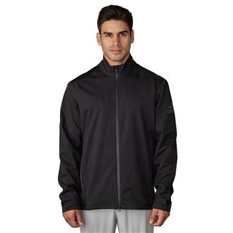 Adidas Mens ClimaProof Heathered Rain Jacket