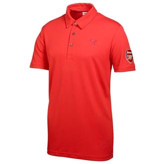 Puma mens tech polo limited edition arsenal polo shirt