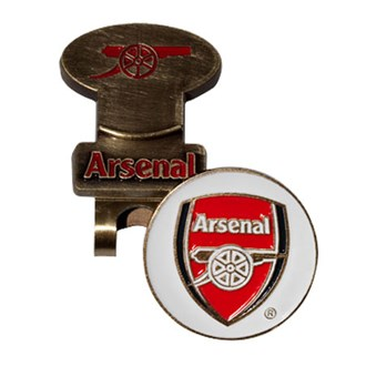 arsenal hat clip with ball marker