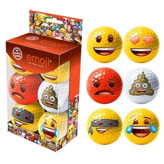 emoji balls (6 balls)