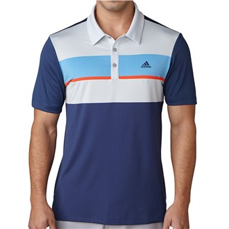 Adidas Mens ClimaCool Chest Block Polo Shirt