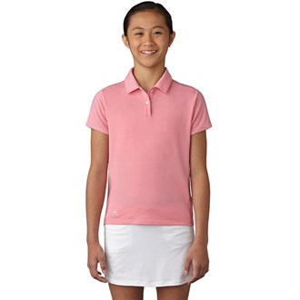 adidas girls cotton hand polo shirt