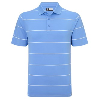 Callaway mens chev auto stripe polo shirt