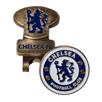 chelsea hat clip with ball marker