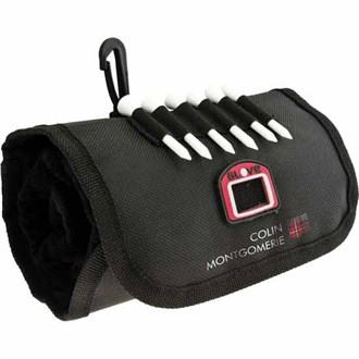 golfers towel pouch (colin montgomerie collection)