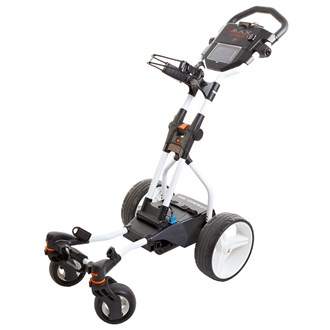 big max coaster quad brake electric trolley with lithium battery