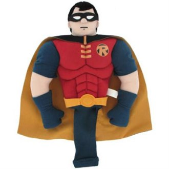 Warner brothers superhero robin headcover