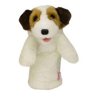 Daphnes jack russell terrier headcover van kantoor artikelen tip.