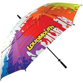 Loudmouth 64 inch double canopy drop cloth umbrella