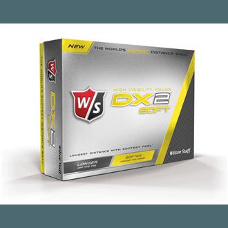 Wilson staff dx2 soft yellow balls (12 balls)
