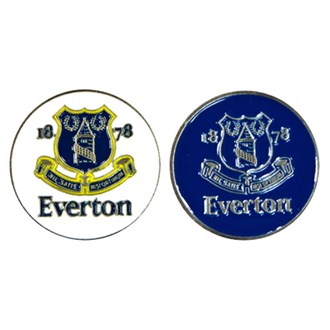 Everton 2 sided ball marker