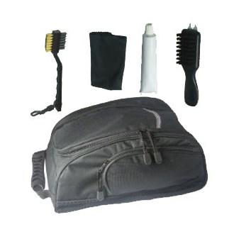 Executive shoe bag and care kit van kantoor artikelen tip.